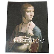 """Hardcover Art Book """"Leonardo""""  By Frank Zollner"""