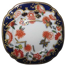 "2 1/2"" Vintage Miniature Royal Crown Derby Plate #9818 Imari Pattern PERFECT"