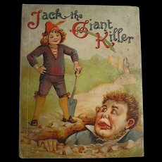 1911 Antique Book Jack The Giant Killer Child's Book by Raphael Tuck & Sons