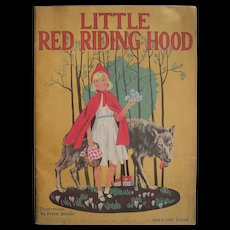1937 Children's Book Little Red Riding Hood Illustrations by Helen Smith
