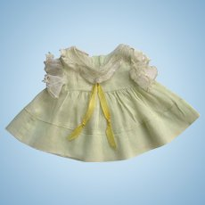 ADORABLE Vintage Factory Original Tagged Doll Dress