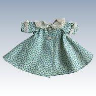 1950's Tagged Vintage Madame Alexander-Kins' Flowered Housecoat