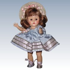 LOVELY 1953 Strung Vintage Vogue Ginny Doll Cheryl #44 Tiny Miss High Color