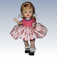 1955 SLW Nancy Ann Muffie Doll #504-3 Gay Cotton Prints