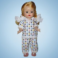 1955 Vintage Nancy Ann Muffie SLW Doll #910-3 Special Occasion Styles