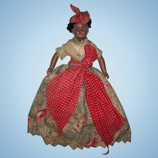 """Lovely 12"""" All Original French SFBJ / Unis #60 Bisque Brown Lady Doll"""