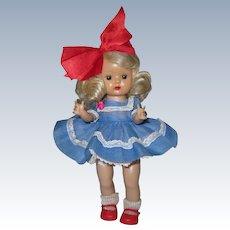 Sweet 1955 MLW Vintage Nancy Ann Muffie Doll #603-3 Favorite Fashions