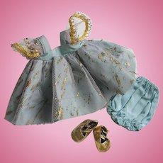 Minty Crisp 1954 Tagged Vintage Vogue Ginny Doll Dress Set #26 My Kinder Crowd