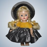 Pretty 1954 PLW Vintage Vogue Ginny Doll #63 My First Corsage
