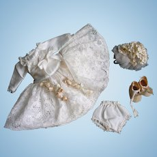 1953 Tagged Vintage Vogue Ginny Doll Bride Dress Set #55 Fable & Bride Series