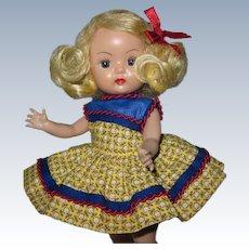 Lovely 1955-56 Vintage SLW Nancy Ann Muffie Doll  #606-4 Favorite Fashions