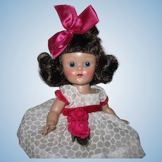 Minty Crisp 1954 PLW Vintage Vogue Ginny Doll #24 My Kinder Crowd Rosy Cheeks