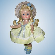 Stunning 1954 PLW Vintage Vogue Ginny Doll Minty Tagged Variation #54 Candy Dandy