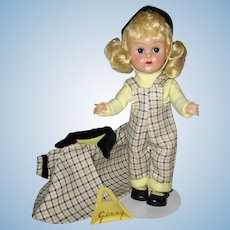 Adorable 1955 MLW Vintage Vogue Ginny Doll Gym Kids #29 & #6181