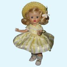 "Fabulous 1953 Strung Nancy Ann Muffie Doll #611 ""Margie Kissable"" Dress-up Styles"