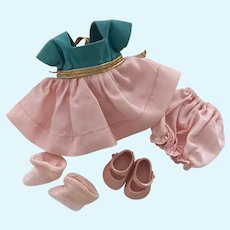 Minty Tagged 1956-57 Vintage Vogue Ginny Doll Dress Set