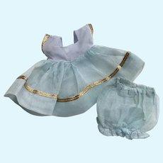 "Lovely 1952 Strung Vintage Vogue Ginny Doll Dress ""Pat"" #31 Kindergarten Series"