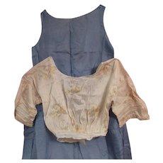 Ladies vintage Blouse and Dress Panel