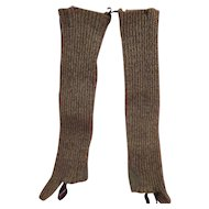 Old Woolen Stockings for Outside Wear
