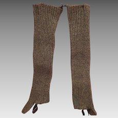Old Woolen Stockings for Outside Wear
