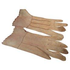 Old Well Worn Kid Gloves