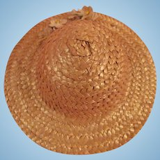 Wonderful Old Straw Dolls Hat