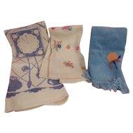 Vintage Cotton Hand Towels