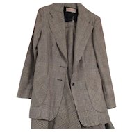 Vintage Ladies Wool 2 piece Suit