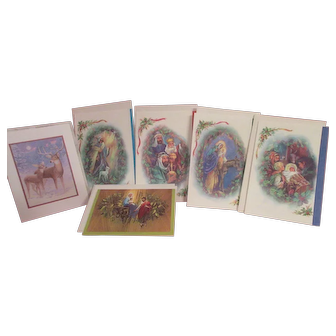 Old Vintage Christmas Cards