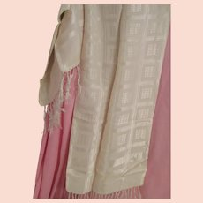 Men's or Ladies Vintage Mid Century Silk Scarf