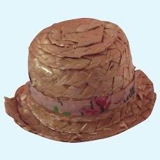 Wonderful Old Straw Dolls Hat