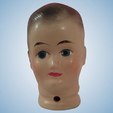 Fine Composition Boy Doll head