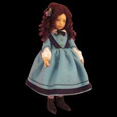 Maggie Iacona Felt Artist Doll