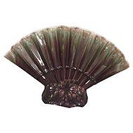 Royal Haeger Pottery Fan Vase