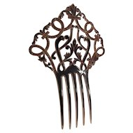 Old Fancy Hair Comb