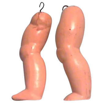 Composition legs for doll repair