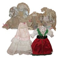 Assortment of Dolls Dresses