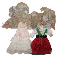 Assortment of Dolls Dresses