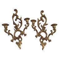 Mid Century Syroco Wall Sconces