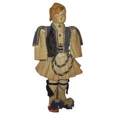 Vintage Papier Mache' Boy Doll