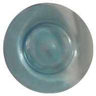 Pastel Stretch Glass Pastel Blue Plate
