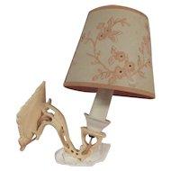 Rare Bakelite Wall Lamp