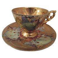 Great Cup and Saucer from the post WW II era