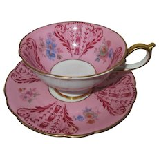 Royal Bayreuth Post WW II Cup and Saucer