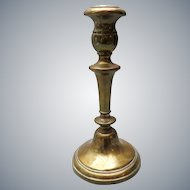 French brass candlestick / candle holder  - France 19th century
