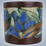 Bergen / Mons Belgium 1920 -1930's - Ceramique Montoise CM Plateel ceramic pot vase