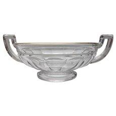 Val St Lambert VSL -  Art deco bowl Noémie coupe - 1930s Belgium