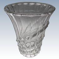 Val St Lambert - 1930s Art Deco Luxval vase Gabriel