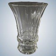 Val St Lambert Belgium - 1930s Art Deco Luxval vase Dufour