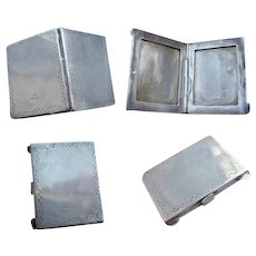 Novelty 925 Birm Import 1995 Sterling SILVER Miniature PHOTO Frame Locket Case